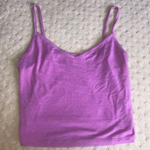 Victoria secret pink tank top purple